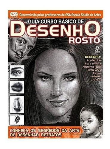 Imagem 1 de 1 de Livro Guia Curso Básico De Desenho: Rosto