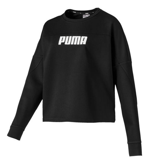 Sudadera Puma Casual Nu-tility Mujer Negro