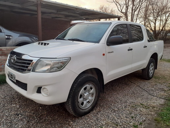 Toyota Hilux 2015 Dx Pack D/cab Titular Impecable