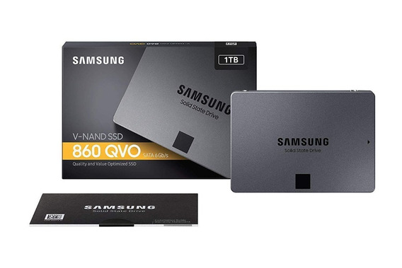 Ssd Samsung 860 Qvo 1tb 2,5 Mz-76q1t0b V-nand Sata3 6gb/s