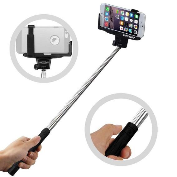 Bastão De Self Pau De Self Com Controle Bluetooth Monopod