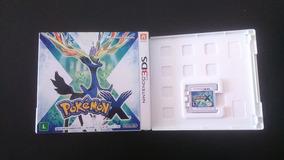 Cartucho Com Game Pokémon X Para Ds3