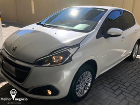 Peugeot 208 Active Pack 1.2 Flex 2017 Branco Pérola