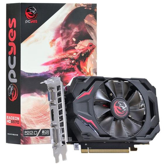 Placa De Video Radeon 6570 2gb Ddr3 128 Bits Hdmi Dvi 12x