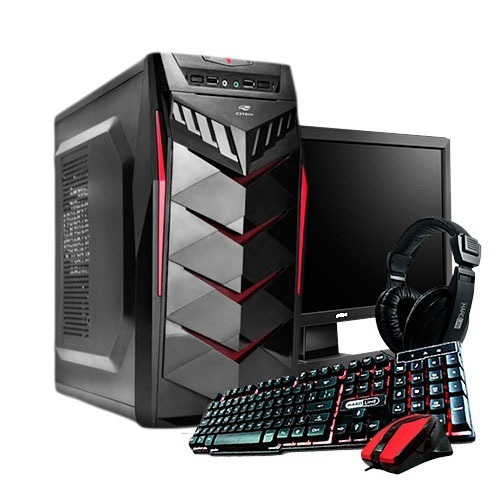 Pc Gamer Completo Core I5/ 8gb/ 1tb/ Gtx 1050ti / Wi-fi