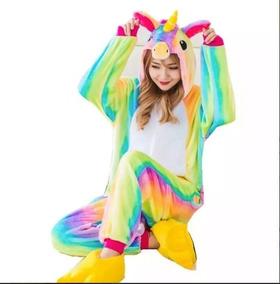 Pijama Kigurumi Unicornio Arcoiris - Envio Gratis Full Stock