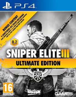 Sniper Elite 3 / Ultimate Edition / Juego Físico / Ps4