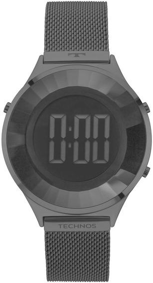 Relógio Technos Feminino Elegance Crystal Bj3851ae/4 Nf-e