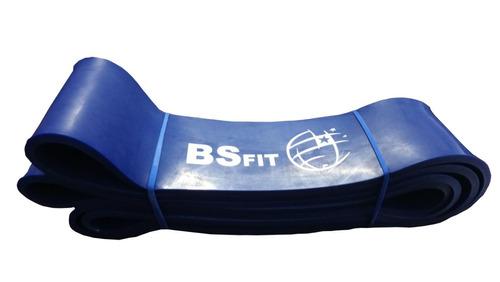 Banda Resistencia Dominadas Power Band Azul Bsfit Fitness Gym Sport