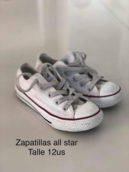 Zapatillas All Star Blancas (unisex)