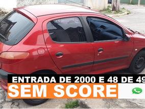 Peugeot 206 Financio Mesmo Sem Score