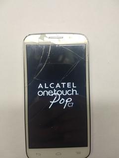 Celular Alcatel Onetouch Popc7 Travado No Logo