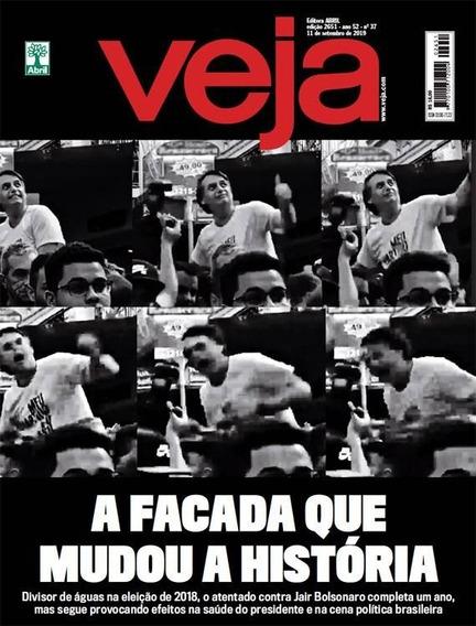 Revista Veja, Ed. 2651, A 52, N. 37, 11 De Setembro De 2019.