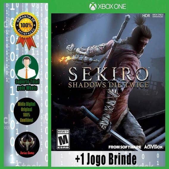 Sekiro Shadows Die Twice Xbox One Midia Digital + 1 Jogo