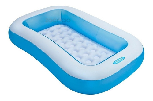 Piscina Hinchable Rectangular 166 X100 X28 Cm, 90lts 57403