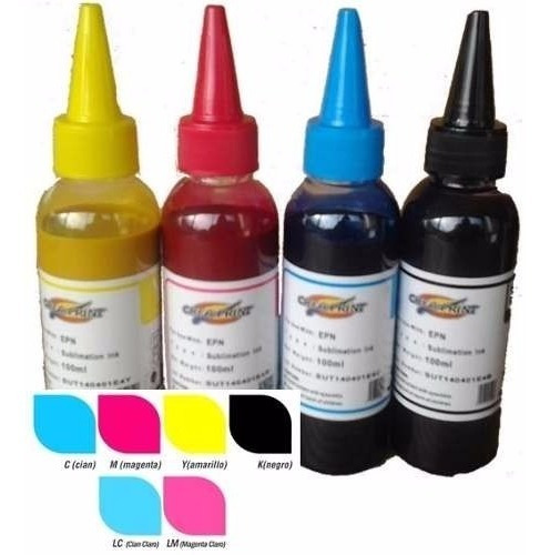 Tinta Creaprint Para Impresora Brother 4 Colores 100ccxcolor