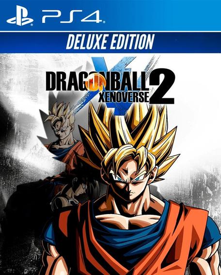 Dragon Ball Xenoverse 2 Deluxe Edition Ps4 Digital 1 Psn