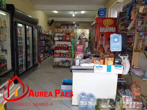 Imagem 1 de 12 de Vende-se Ponto Comercial, Bem Estruturado Em Peruíbe - P414