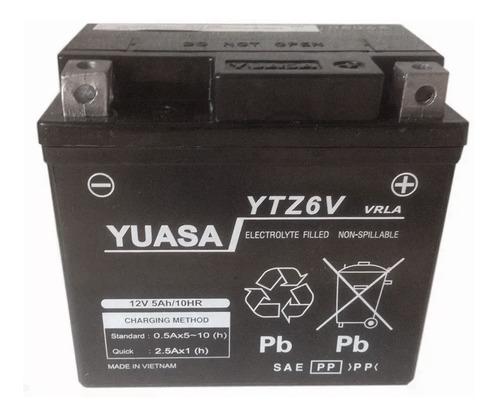 Imagen 1 de 4 de Bateria Yuasa Ytz6 V = Ytx5l Bs Gel Cg New Titan 150 - Sti