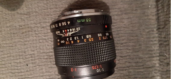 Yashica Lens Ml 55 Mm Macro 55mm 1: 4 Contax Analog