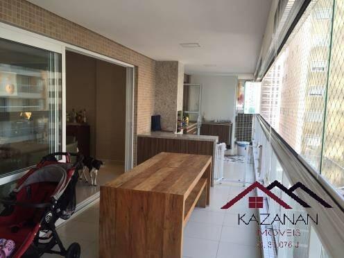 Imagem 1 de 15 de Apartamento 3 Dormitórios Suítes Varanda Gourmet- Gonzaga Santos Sp - 749