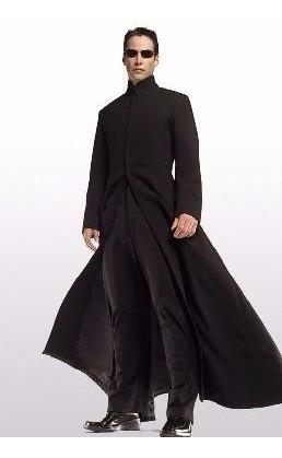 Sobretudo Masculino Matrix Neo (maior) Frete Grátis !
