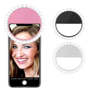 Anillo Luz Led Selfie Celular iPhone Android Flash Ring