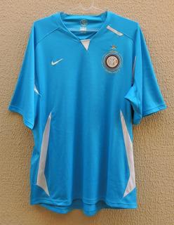 Inter Milão Itália Centenário 2008 Gg De Jogo Original Nike