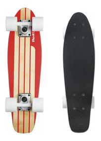 Skate Cruiser Mini Longboard Surf Abec 7 Red Nose Bel 444200