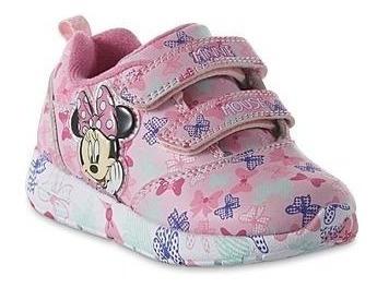 Zapatos Minnie Con Luces Importadas