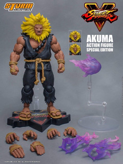 Storm Street Fighter Figures Akuma Special Edition