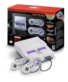 Console Super Nintendo Nes Mini Classic Edition