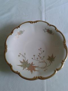 Plato Vintage De Porcelana