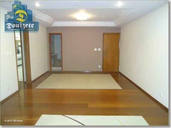 Apartamento À Venda, 141 M² Por R$ 595.000,00 - Jardim Bela Vista - Santo André/sp - Ap0359