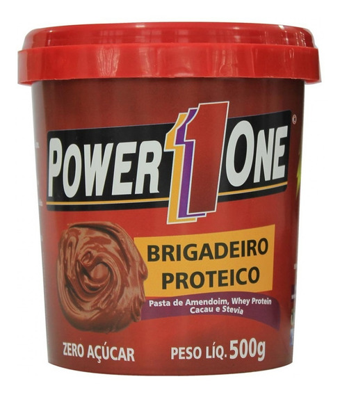 Pasta De Amendoim Com Brigadeiro Proteico 500g - Power One