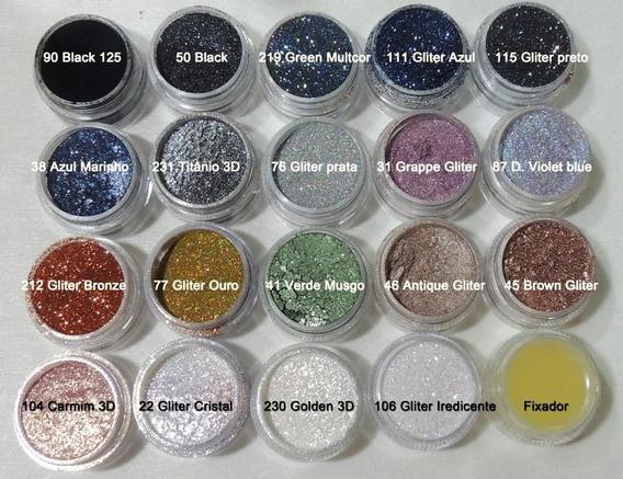 Glitter Bitarra Beauty / Sombra Asa De Borboleta