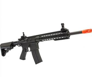 Rifle Airsoft M4a1 Ris, Aeg + Case