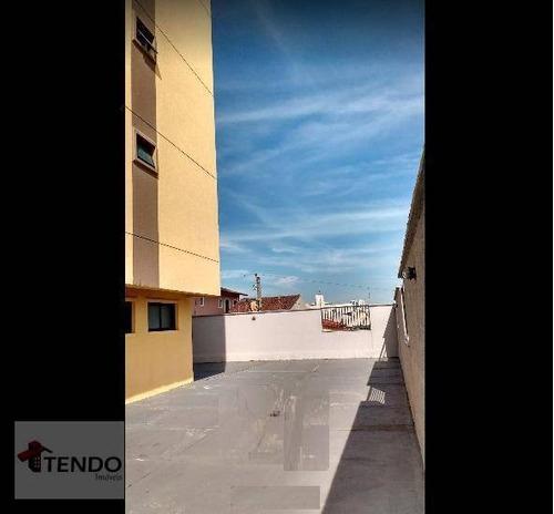 Imagem 1 de 14 de Apartamento Com 3 Dormitórios À Venda, 96 M² Por R$ 372.000,00 - Vila Nossa Senhora Das Vitórias - Mauá/sp - Ap2665