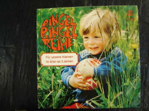 En Alemán,disco Infantil Vinilo Ringel Ringel Reihe