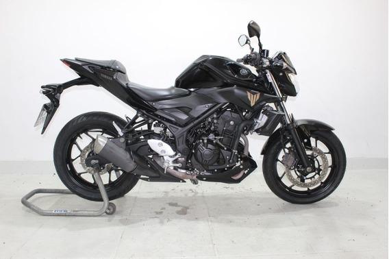 Yamaha Mt 03 Abs 2018 Preta (pneus Novos)