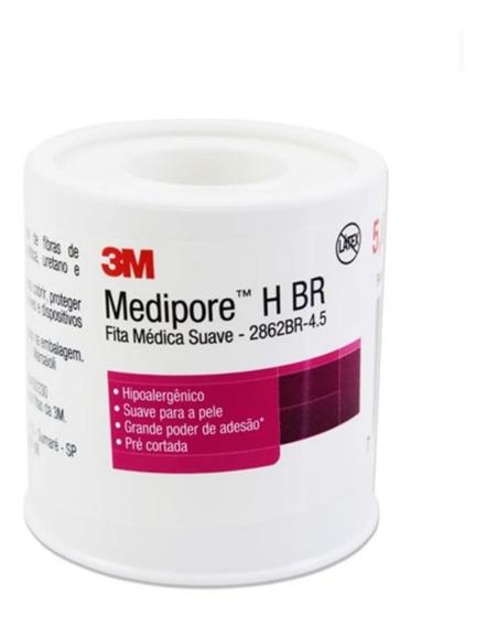 Curativo Medipore 4 Unidades Hbr 3m Ref 2862br 5cm X 4,5 Cm