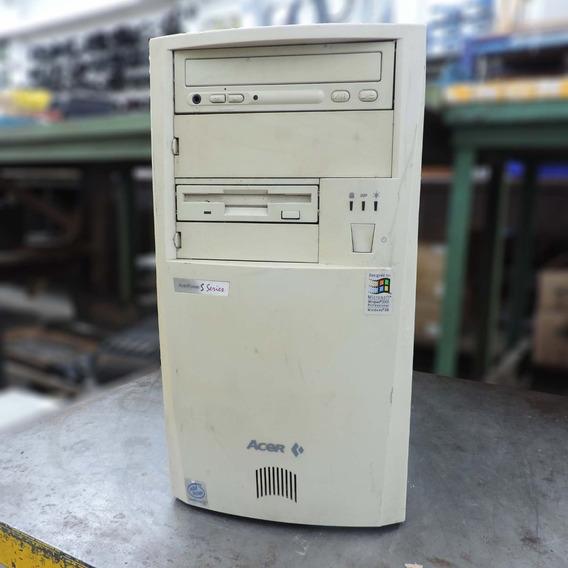 Computador Win98 Pentium Iii Acer Se 430 Xmt Sm143 - Usado