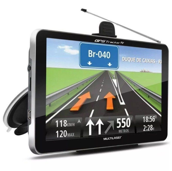 Navegador Gps Automotivo 7 Tv Digital Tracker Multilaser Lcd