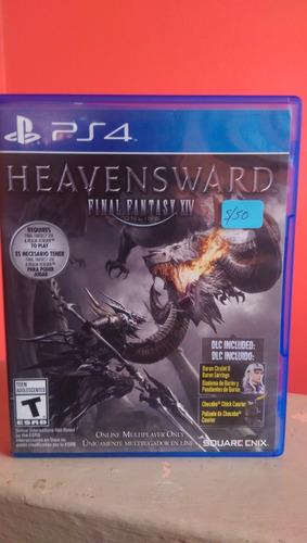Heavensward Final Fantasy Xiv Playstation 4 Perfecto Estado