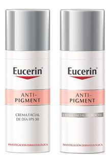 Combo Eucerin Anti Pigment Crema Noche + Día X 50 Ml C/u