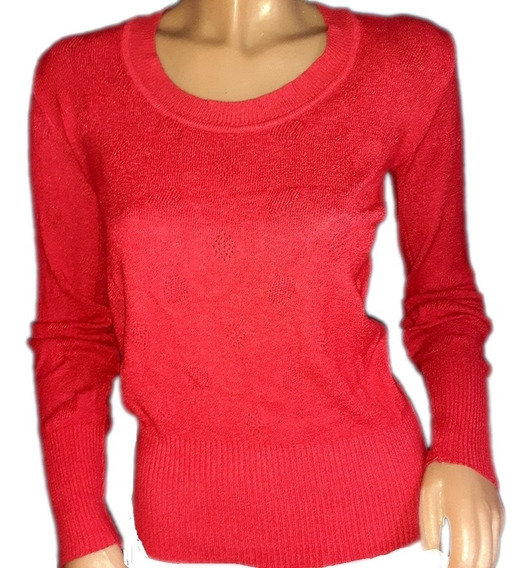 Sweater En Hilo, Relieves Circulares.............talle S