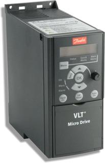 Inversor De Frequência Danfoss Fc-51 Pk75 1cv 220v Com Ihm