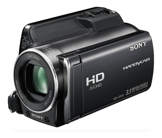 Filmadora Sony Full Hd 120gb Lcd 3,0 Touch Screen 25x Óptico