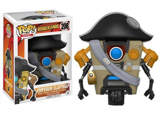 Funko Pop! Borderlands: Emperor Claptrap #208