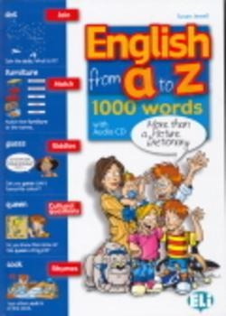 English From A To Z 1000 Words - Book With Audio Cd